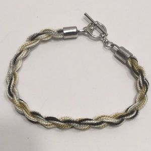 Variegated Cotton Thread Rope Bracelet